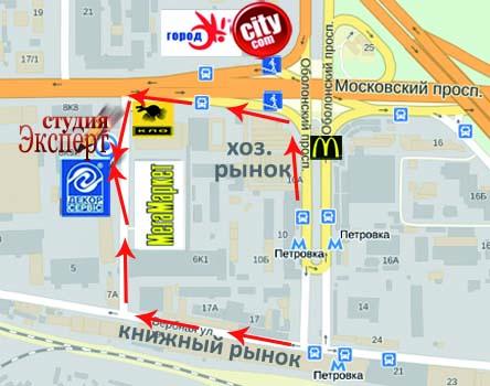 Адреса студії по виконанню курсових, дипломних, контрольних робіт в Києві